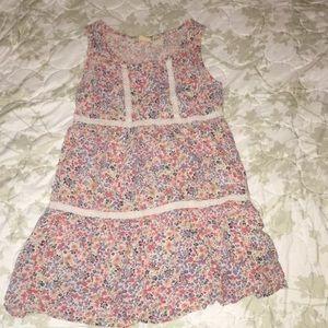 Mudd size 7 girls boho flowy dress